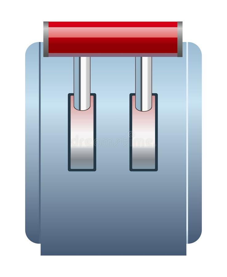 Download Hefboompictogram stock illustratie. Illustratie bestaande uit wegen - 39112947