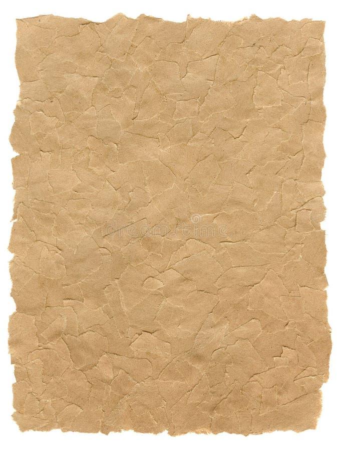 Heftige Papierbeschaffenheit stockbild