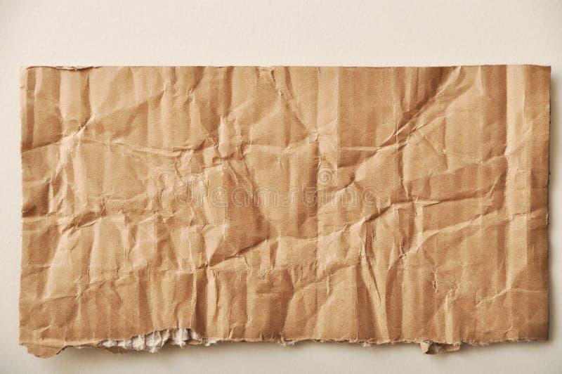 Heftige Pappe lizenzfreie stockbilder