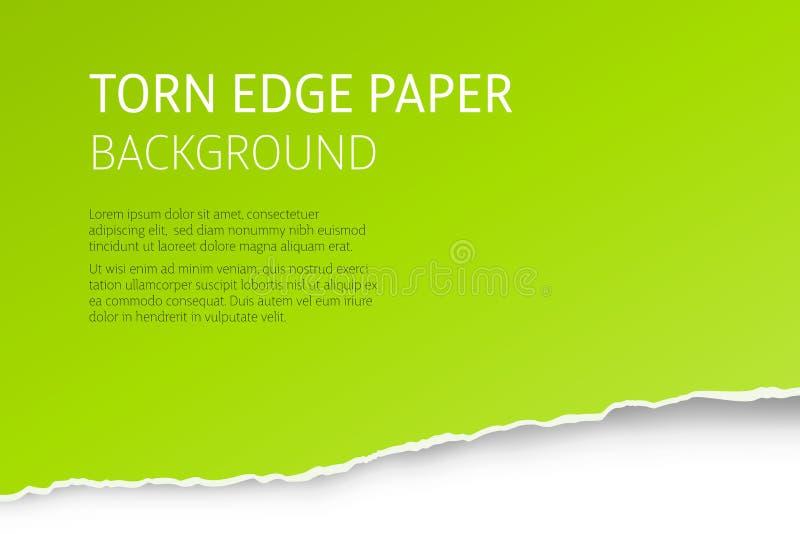 Heftiger Randpapier-Vektorhintergrund stock abbildung