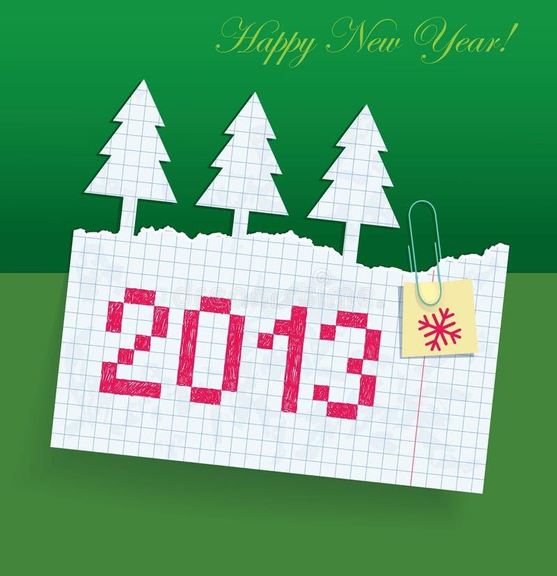 Download Heftiges Übungsbuch Im Kasten Mit Dem Datum P 2013 Vektor Abbildung - Illustration von feiertag, schatten: 26368477