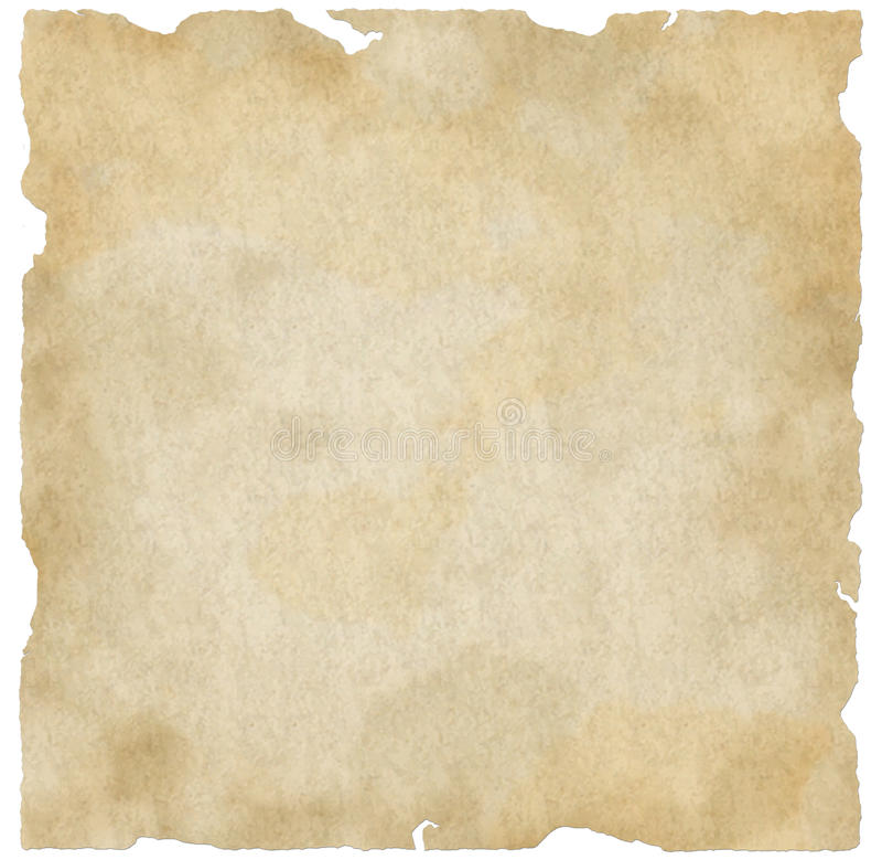 Heftiges altes Papier stock abbildung