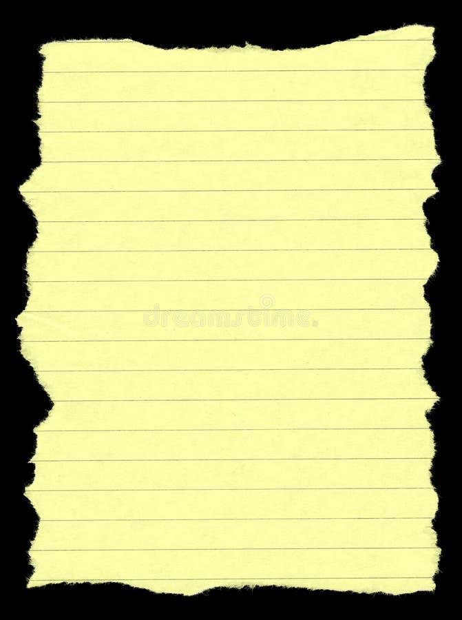 Heftiges gezeichnetes Papier stock abbildung