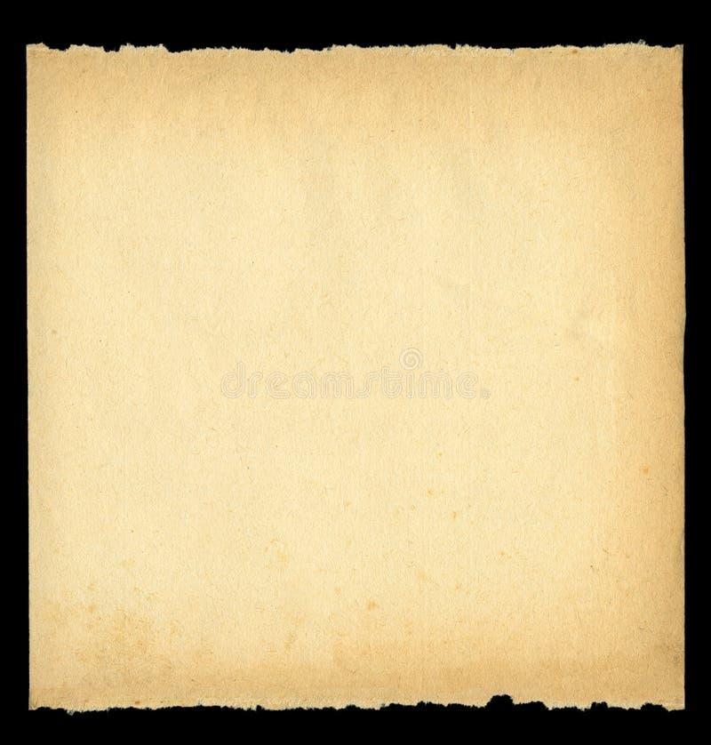 Heftiges heraus altes Papier lizenzfreie abbildung