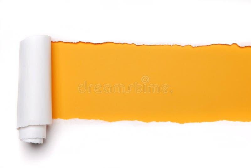 Heftiges Papier lizenzfreie stockfotos