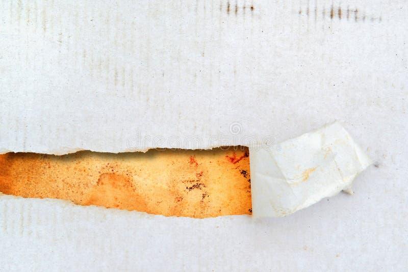 Heftiges Papier als Hintergrund stockfotografie