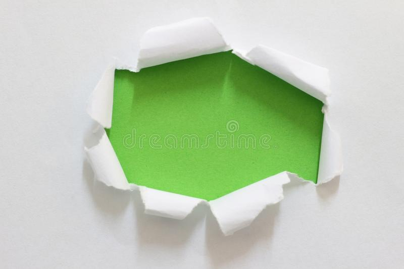 Heftiges Risspapier stockfoto