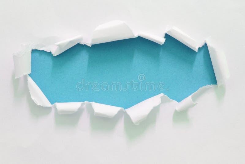 Heftiges Risspapier stockfotos