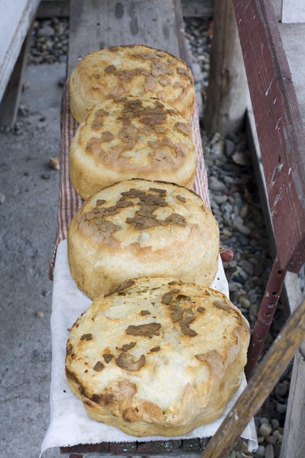 Heiße Brote stockfoto