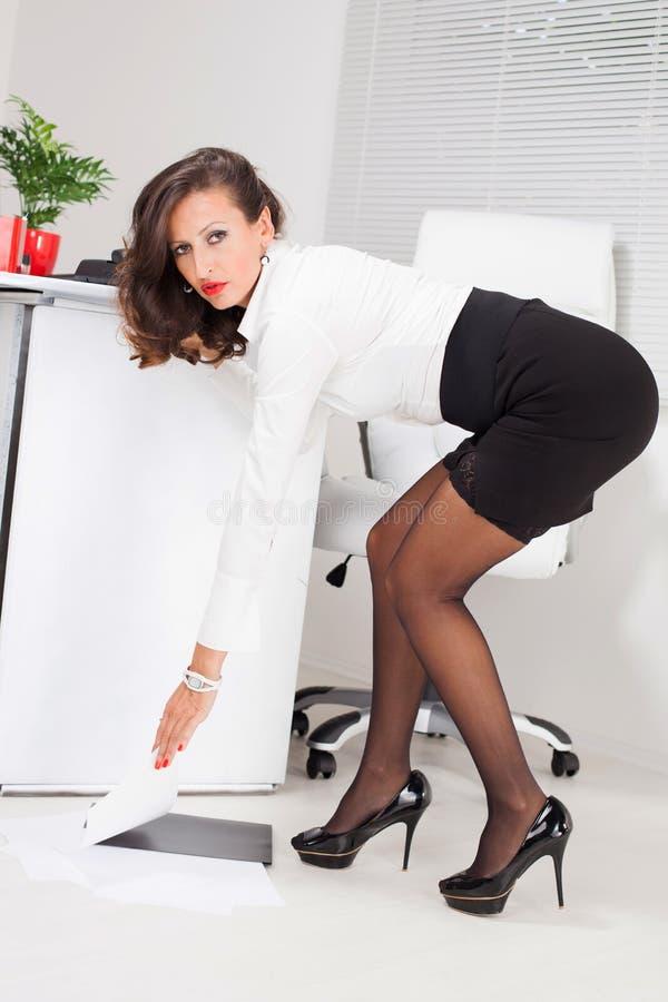 heißes Foto der Sekretärin