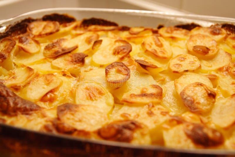Heiße Kartoffeln lizenzfreie stockbilder