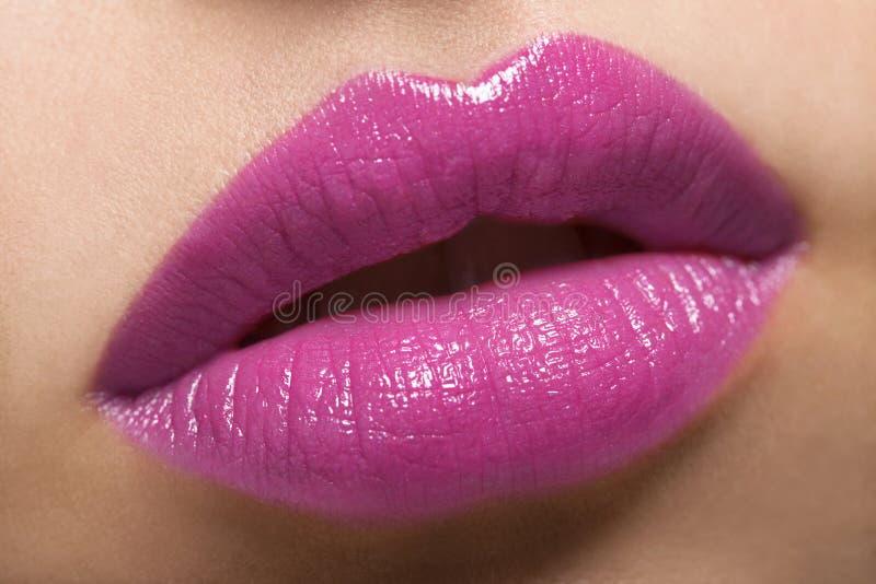 Heiße Lippen lizenzfreie stockfotos