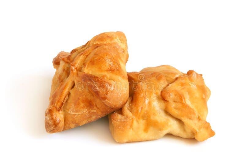 Heiße Pastetchen vom Weizenmehl stockbild