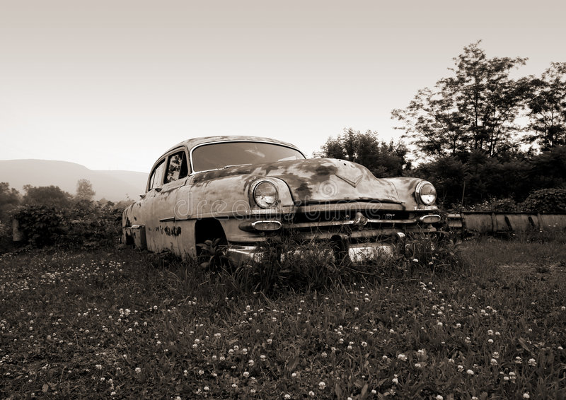 Heiße Räder (B&W) lizenzfreies stockfoto