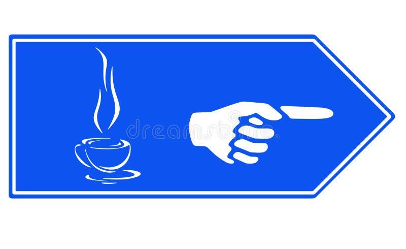 Heiße Schale des Getränks lizenzfreie abbildung