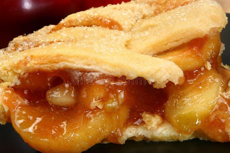 Heißer Apfelkuchen stockbilder