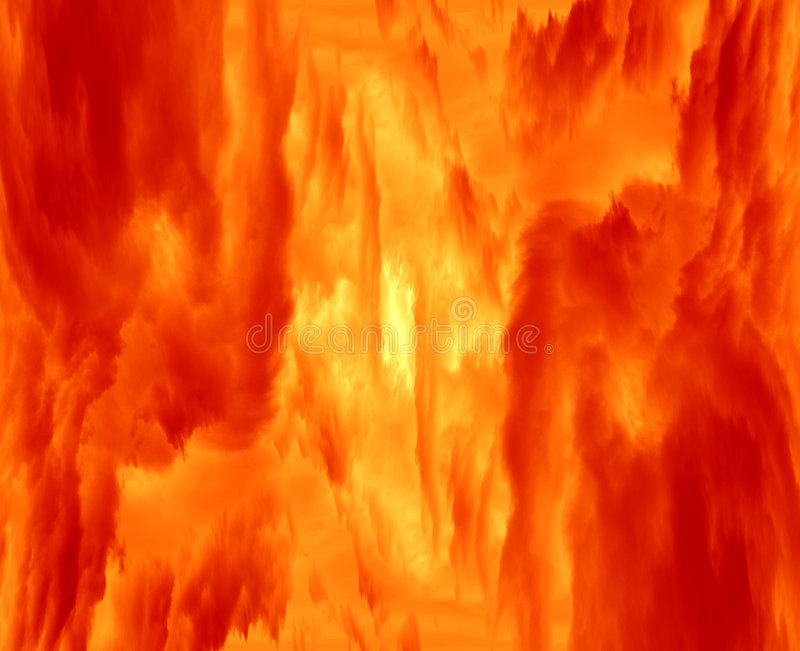 Heißer gasförmiger Nebelfleck vektor abbildung