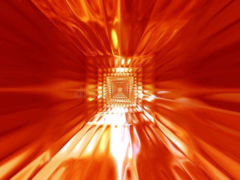Heißer Hintergrund des abstrakten Feuers vektor abbildung