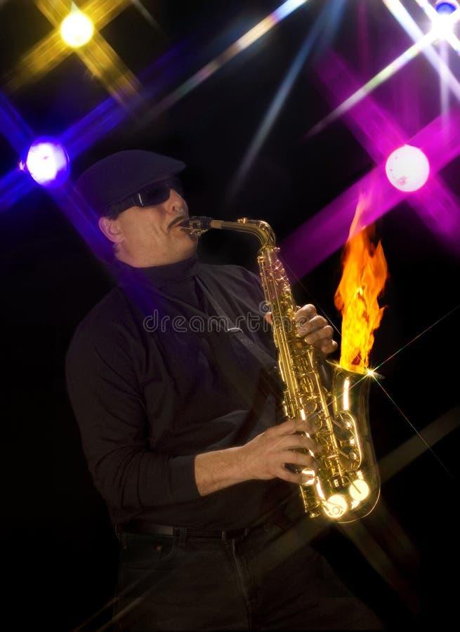 Heißer Jazz stockbilder