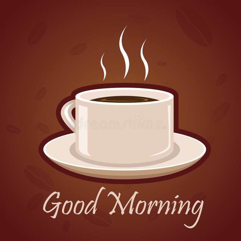 Heißer Kaffee stock abbildung