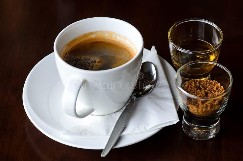 Heißer Kaffee lizenzfreie stockfotos