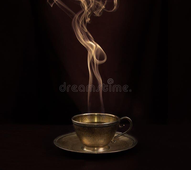 Heißer Kaffee lizenzfreies stockfoto