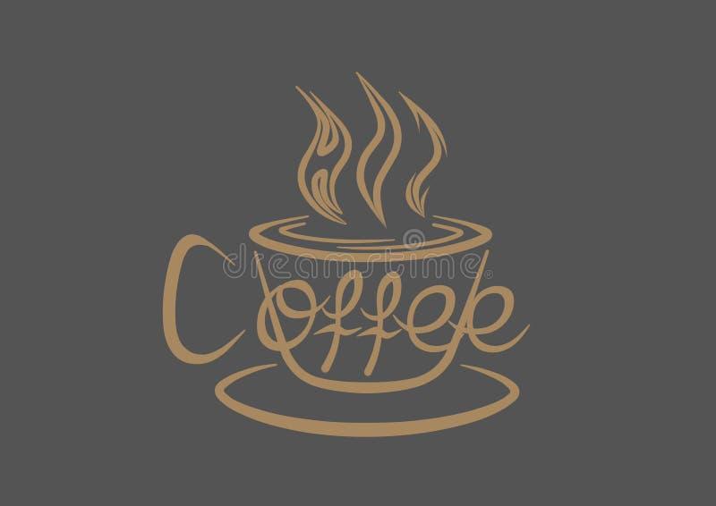Heißer Kaffee vektor abbildung