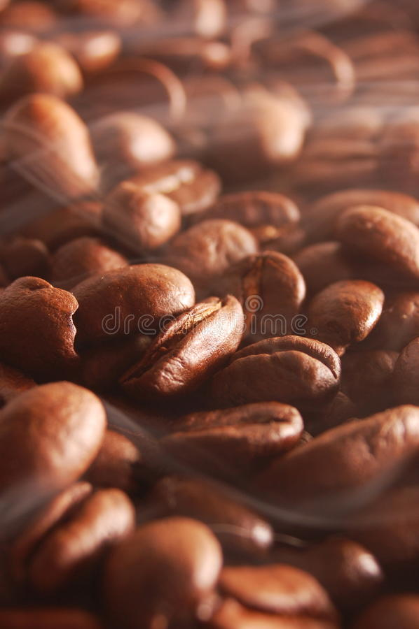Heißer Kaffee zum Frühstück stockfoto
