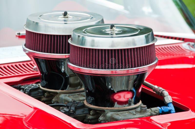 Heißer Rod-Motor lizenzfreies stockbild