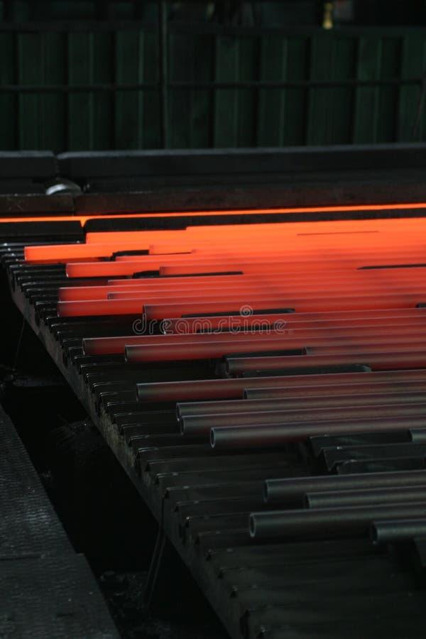 Heißer Stahl stockfotos