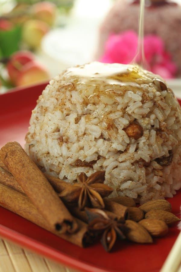 Download Heißer Zimt- Und Reisnachtisch Stockbild - Bild von pudding, heiß: 26370513