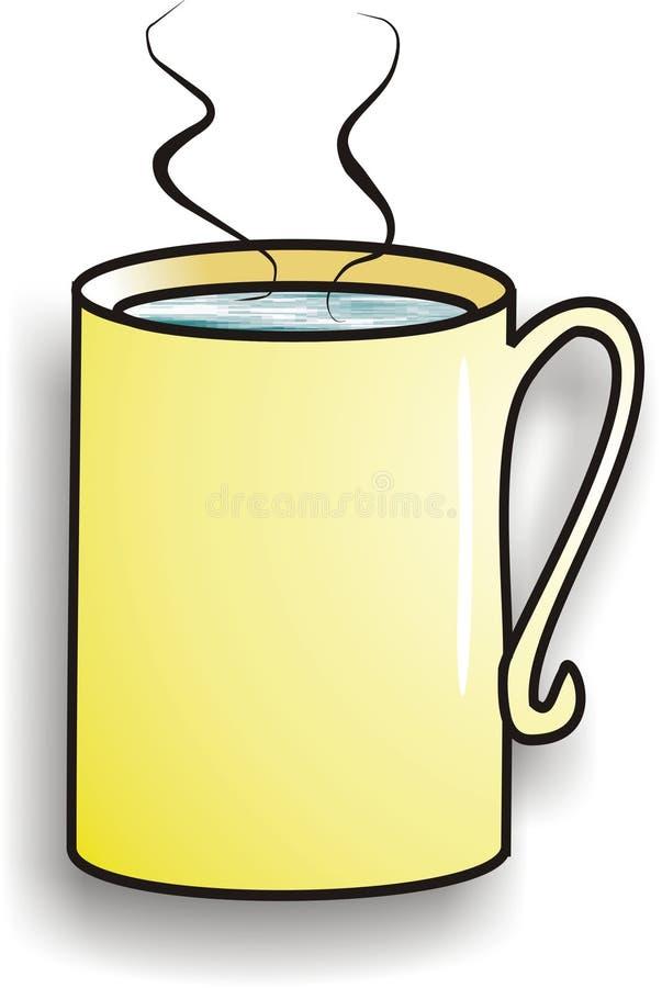 Heißes Getränk stock abbildung