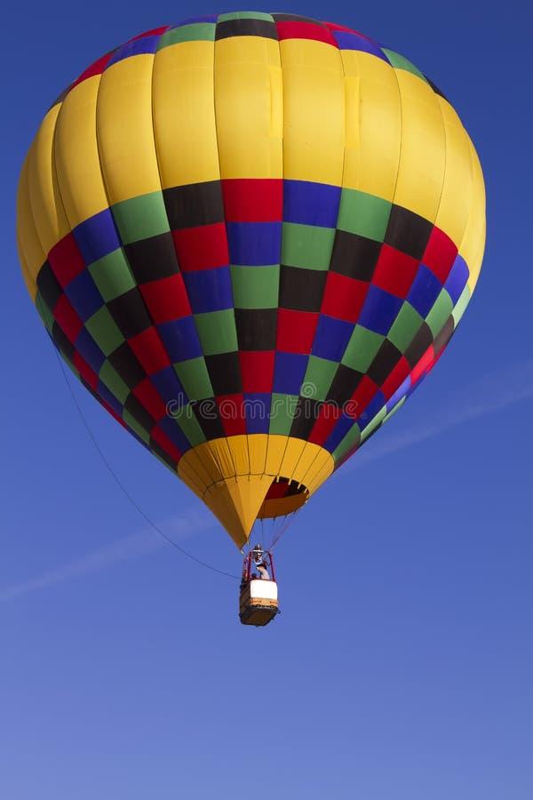 Heißluft-Ballon über Arizona lizenzfreie stockbilder