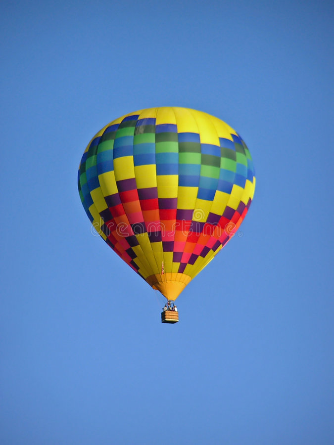 Heißluft-Ballon 1 Lizenzfreies Stockbild