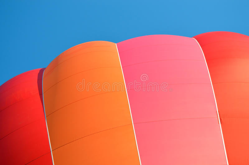 Heißluft-Ballon stockfoto
