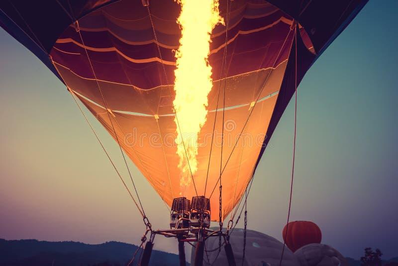 Heißluft Ballone stockfotos
