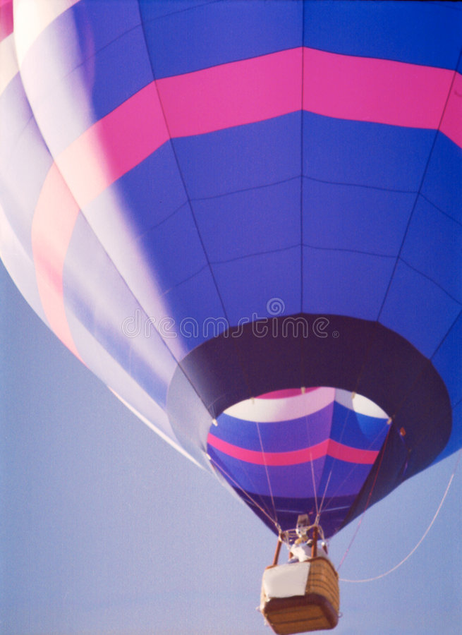 Heißluftballon 1 lizenzfreie stockbilder