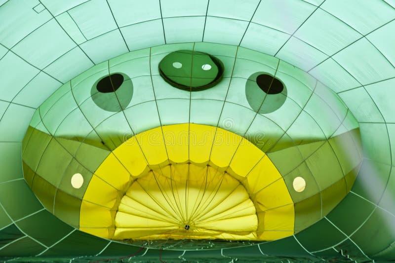 Heißluftballon photgrphed beim Bealton, VA-Flugwesen-Zirkus-Flugschau lizenzfreies stockfoto