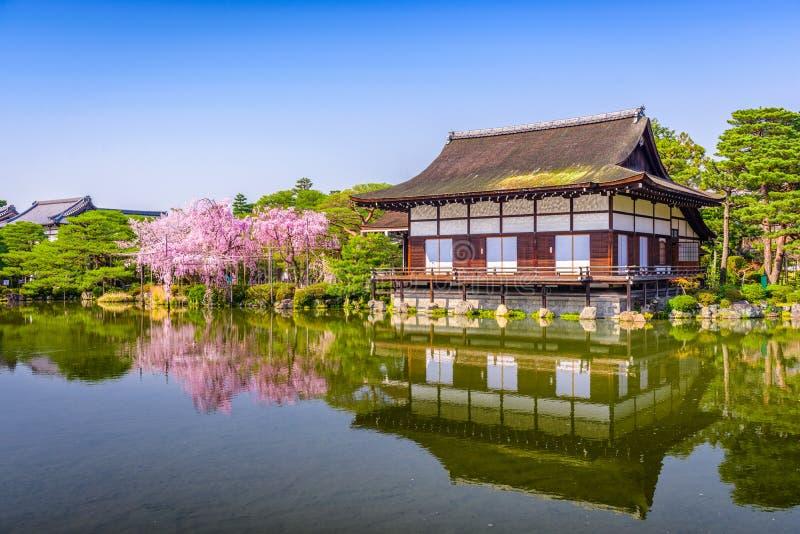 Heian-Schrein Japan lizenzfreie stockbilder
