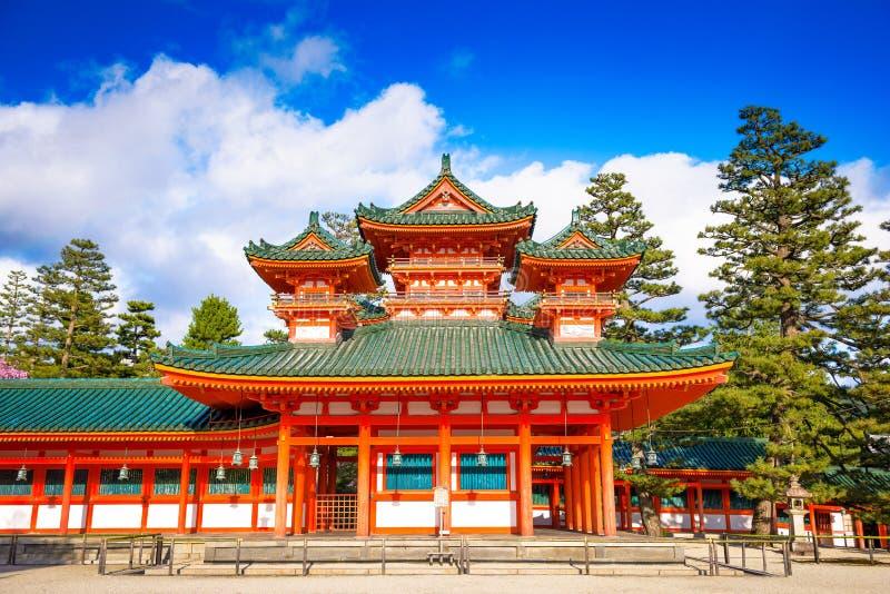 Heian-Schrein von Kyoto lizenzfreies stockbild