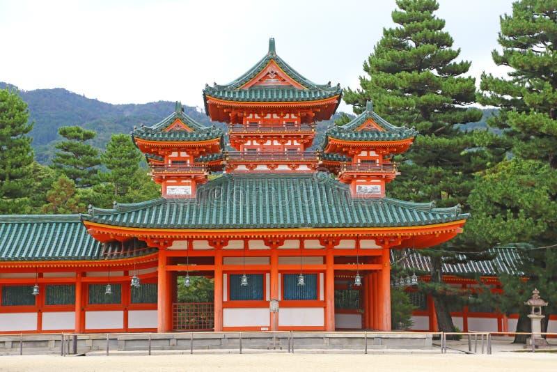 Heian Shrine stock image