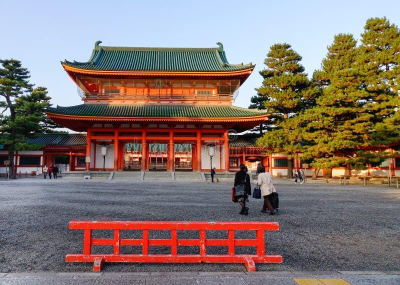 Heian Shrine in Kyoto, Japan stock photo