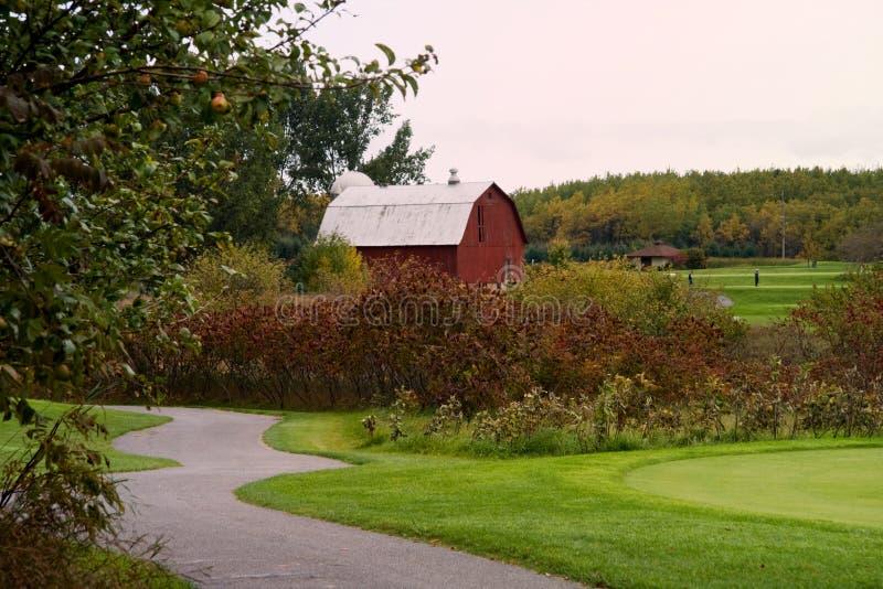 Heide-Golfplatz lizenzfreies stockfoto