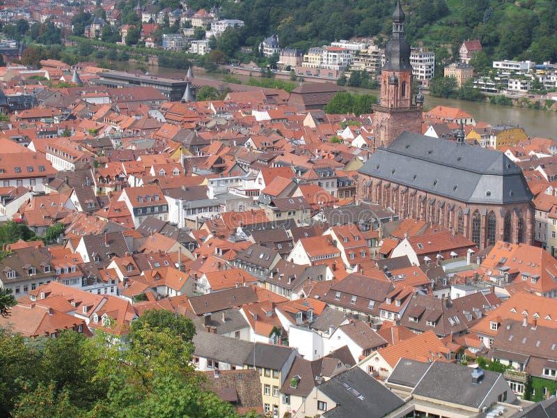 Download Heidelberg стоковое изображение. изображение насчитывающей жить - 1185013