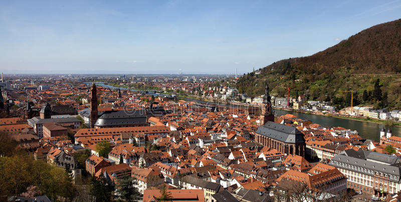 Heidelberg lizenzfreies stockfoto