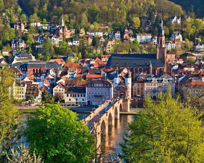 Download Heidelberg stock image. Image of german, castle, panorama - 18056509
