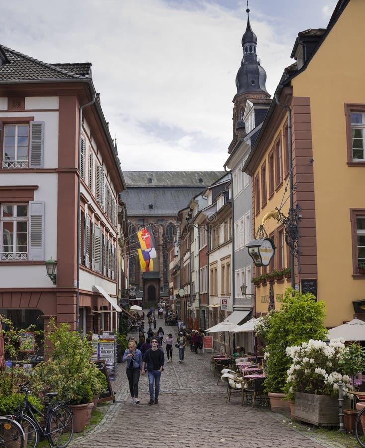 Heidelberg - Baden Wuerttemberg, Tyskland, Europa royaltyfria bilder
