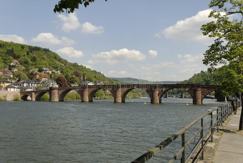 Download Heidelberg Bridge stock image. Image of neckar, federal - 4213339