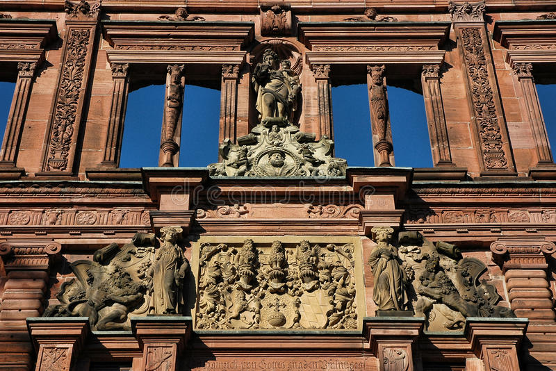 Heidelberg Castle royalty free stock image