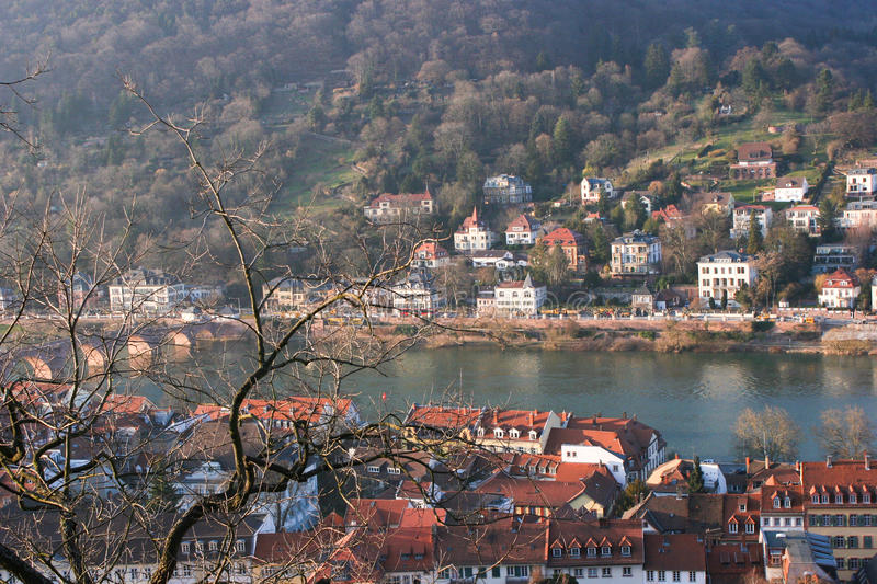 Download Heidelberg Castle stock photo. Image of castle, europe - 39506128